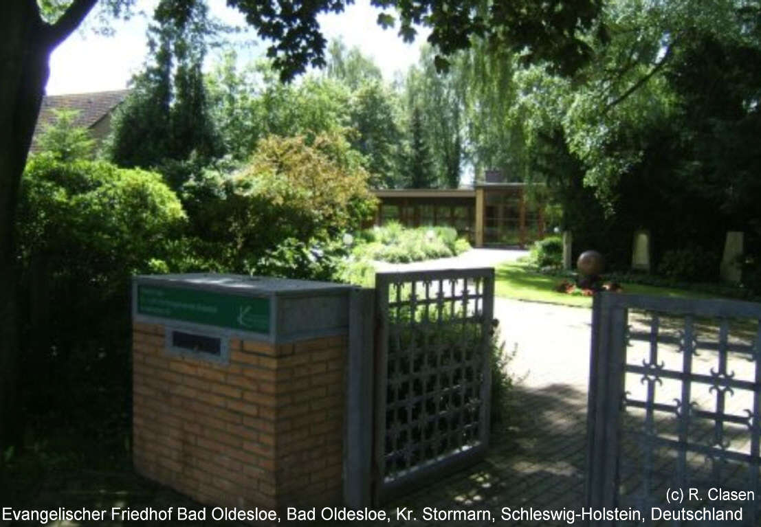 Evangelischer Friedhof Bad Oldesloe