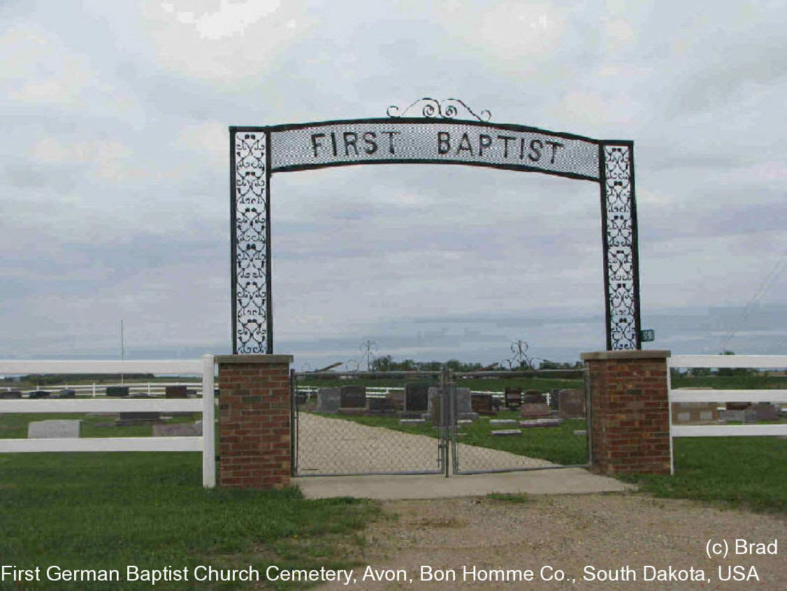 First German Baptist Church Cemetery