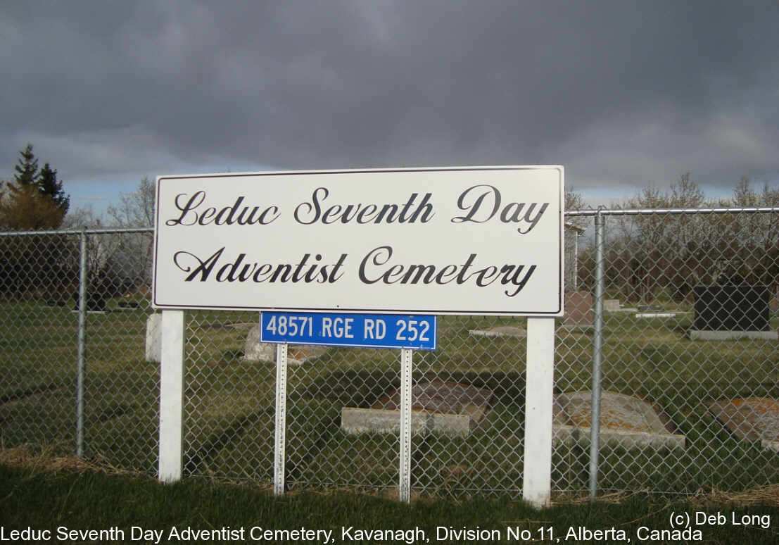 Leduc Seventh Day Adventist Cemetery