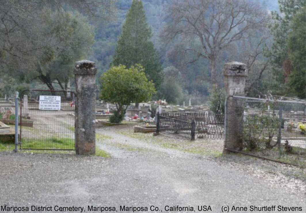 Mariposa District Cemetery