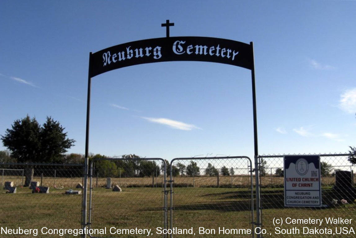 Neuberg congregational cemetery scotland bon homme for Koch neuburg
