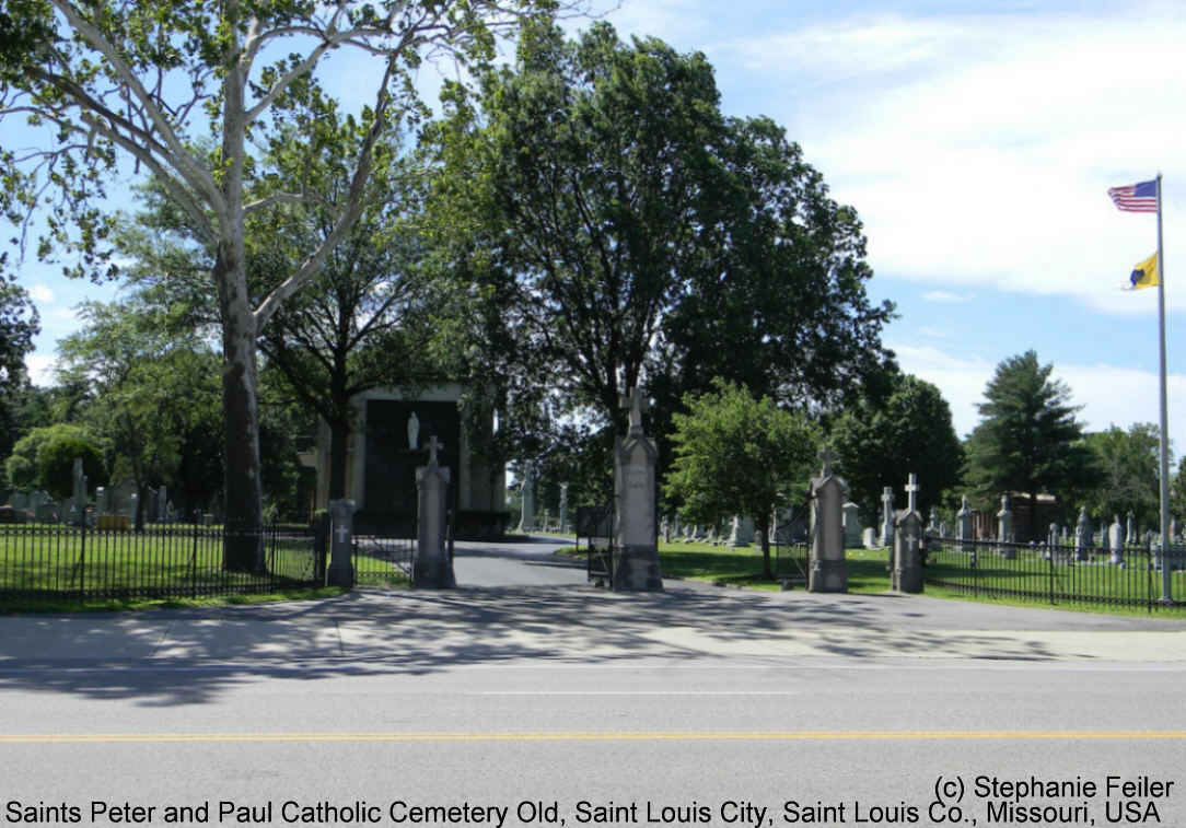 Saints Peter and Paul Catholic Cemetery Old