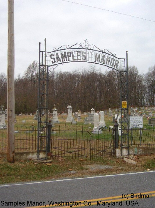 Samples Manor Cemetery